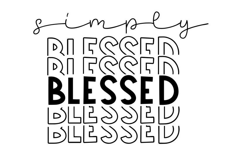 simply-blessed-svg-png-eps