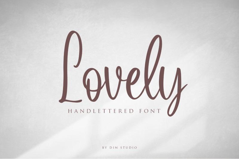 lovely-script