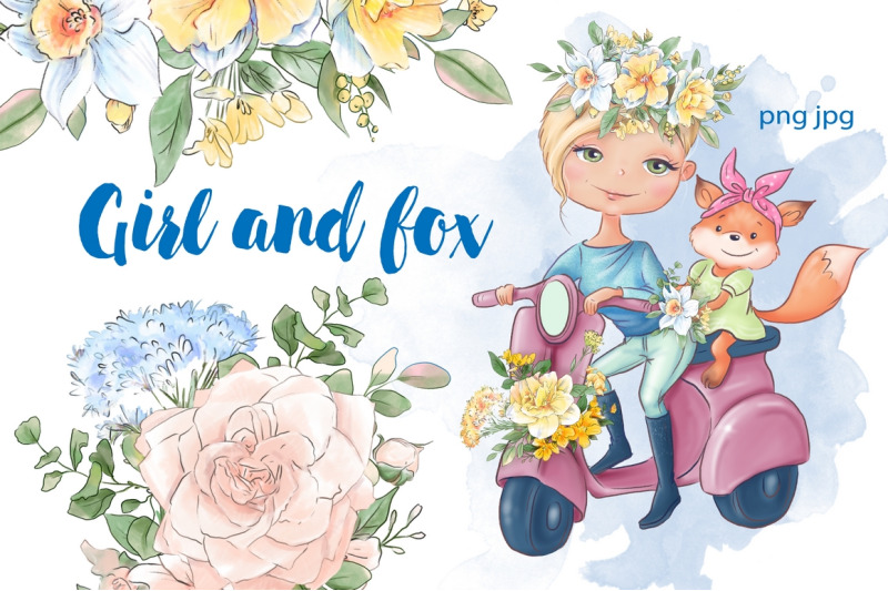girl-and-fox