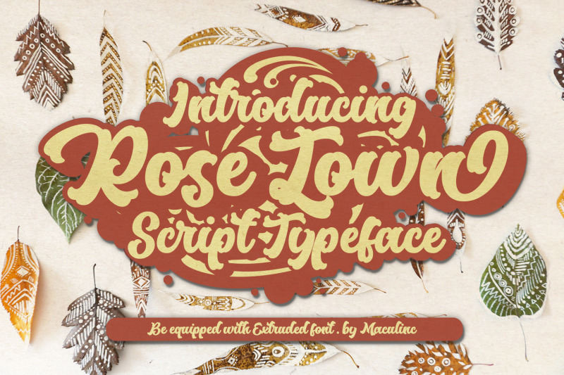 rose-town-retro-font
