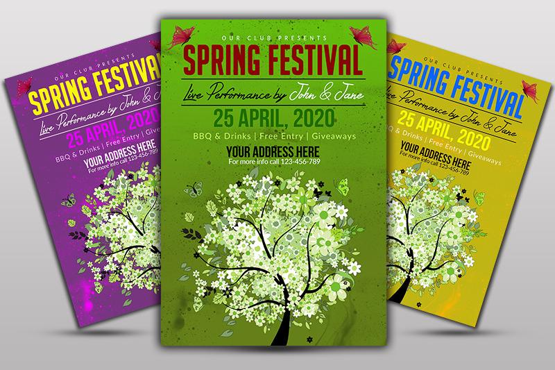 spring-festival-nbsp-flyer