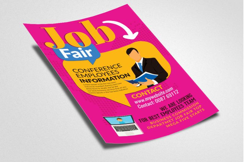 job-fair-flyer-poster-template
