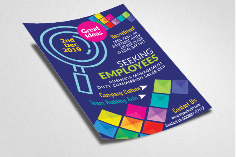 employment-agency-business-flyer-template