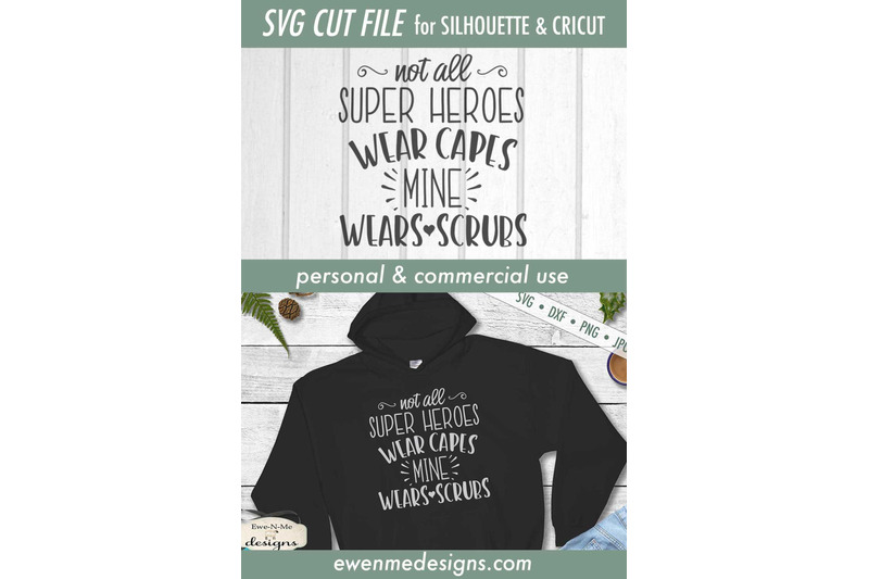 not-all-super-heroes-wear-capes-svg