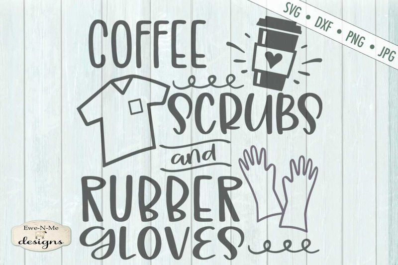 coffee-scrubs-and-rubber-gloves-healthcare-svg