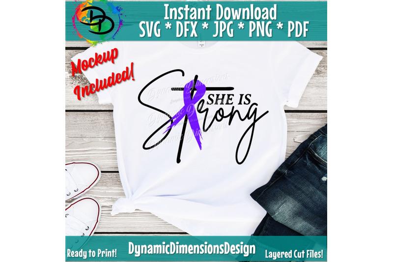 she-is-strong-svg-cervical-cancer-ovarian-cancer-christian-svg-pro