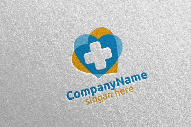 love-cross-medical-hospital-logo-design-43