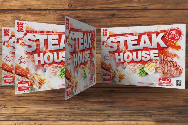 steak-house-flyer