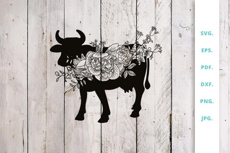 floral-cow-svg-animal-farm-svg-cut-file