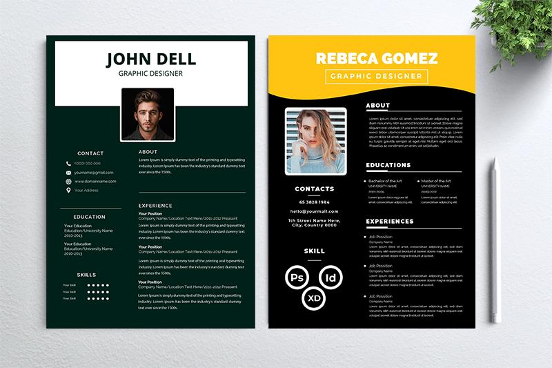 cv-resume-2-concept-bundles-mc-vol-45