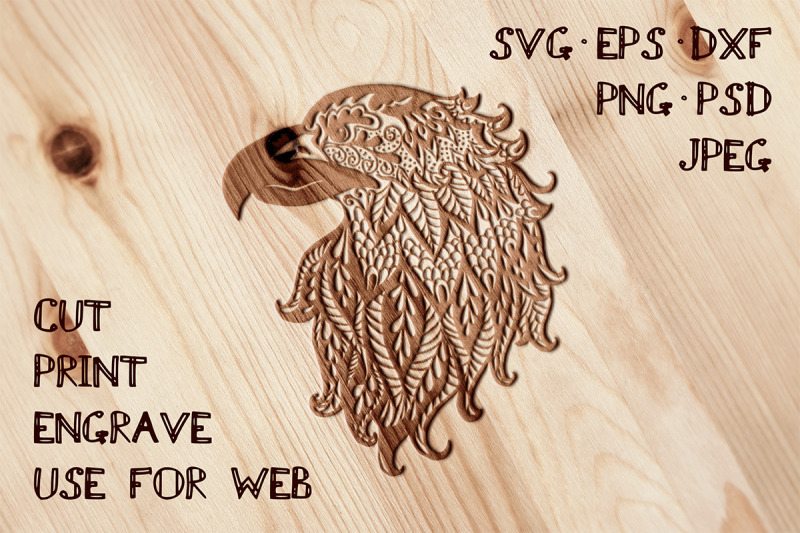 eagle-template-svg-dxf-eps-psd-png-jpeg