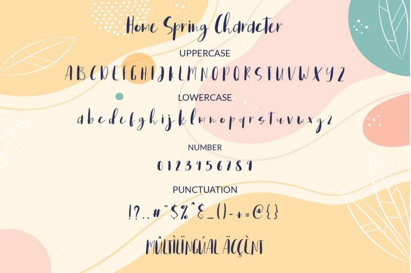 home-spring