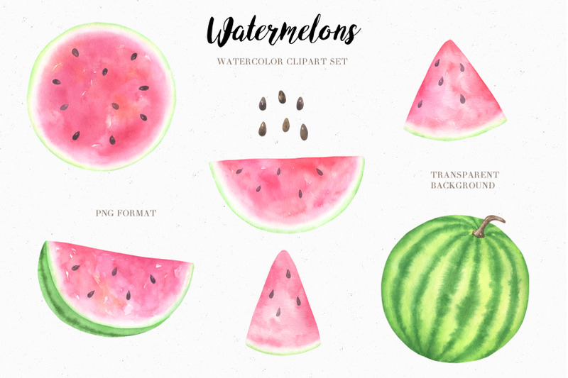 watercolor-watermelon-collection