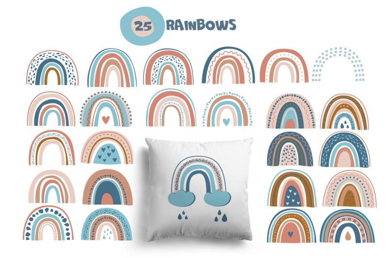 rainbow-vector-clipart-patterns