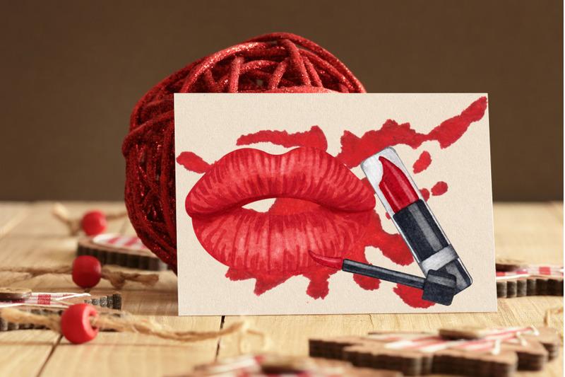 makeup-watercolor-clip-art-600dpi