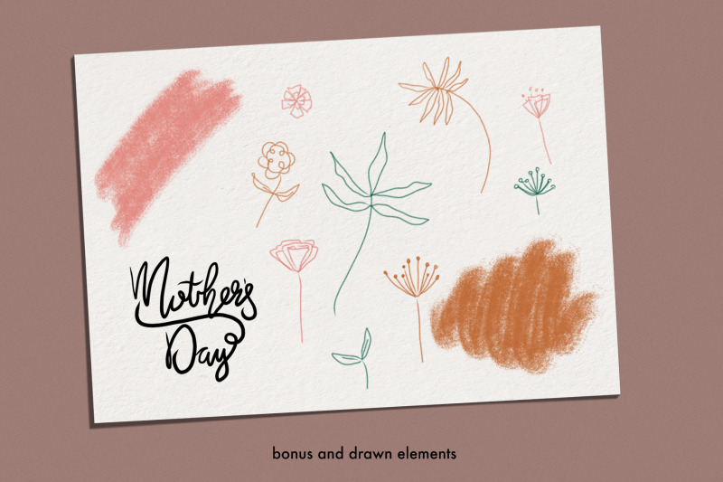 mother-039-s-day-motherhood-line-drawing-pack