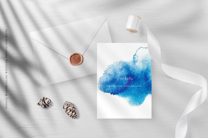 indigo-watercolor-wedding-invitation-suite