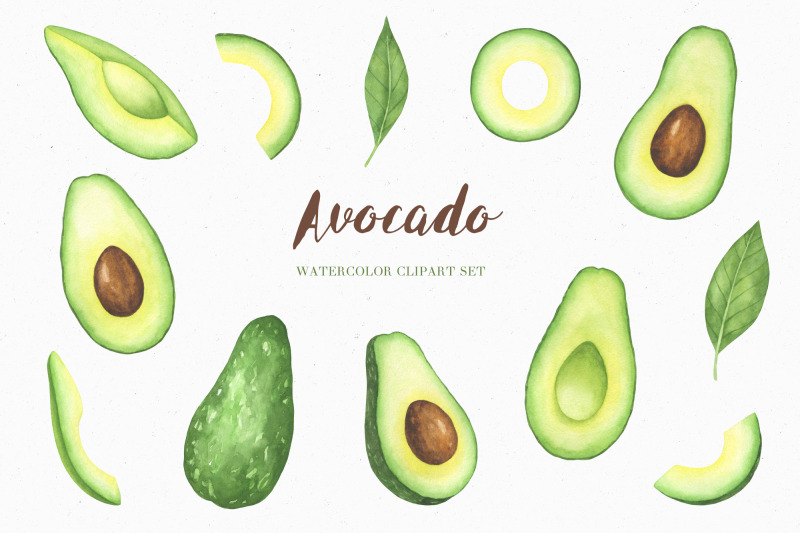 watercolor-avocado-clipart-set-and-seamless-patterns