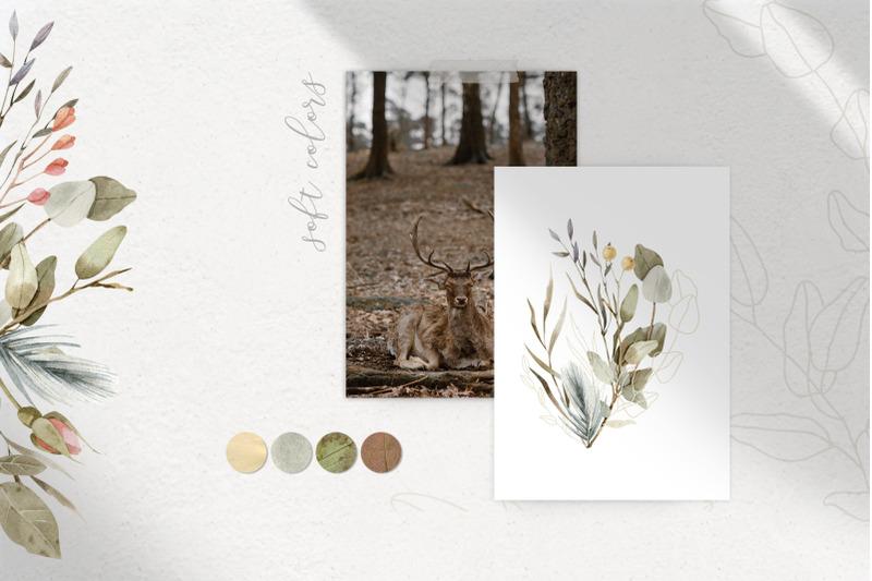 magic-flowers-watercolor-design-set