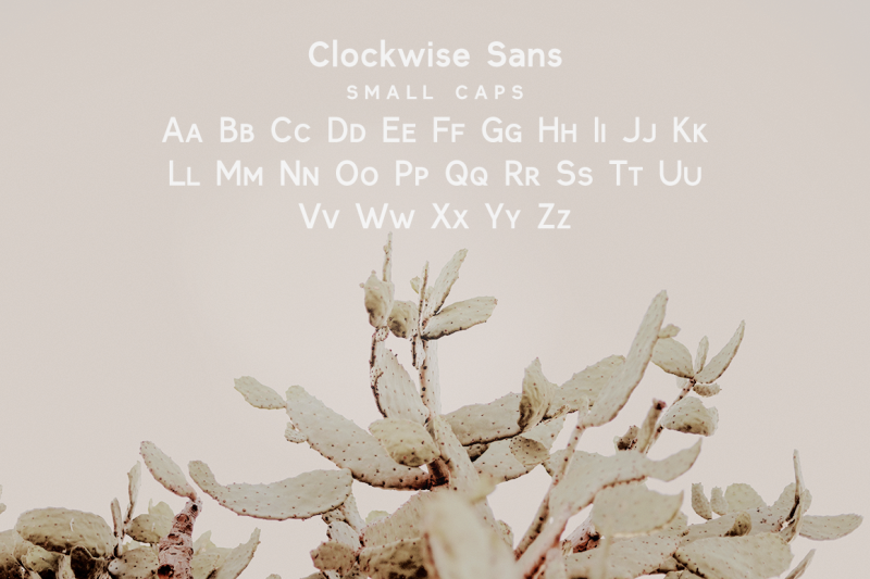 clockwise-sans-serif-font