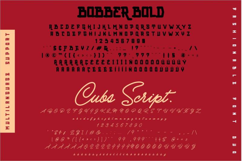 bobber-bold-amp-cubs-script-font-duo