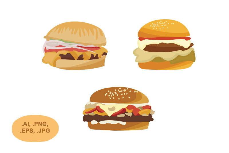 burger-vector-pack