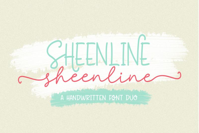 sheenline-font-duo