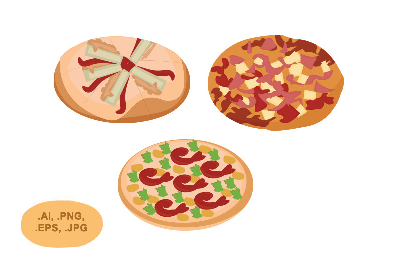 pizza-vector-pack