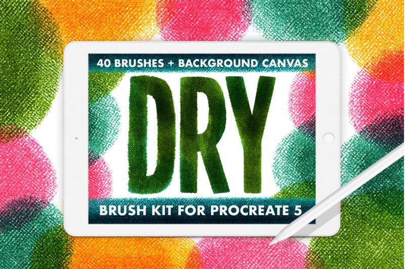 40-dry-brush-kit-for-procreate-5