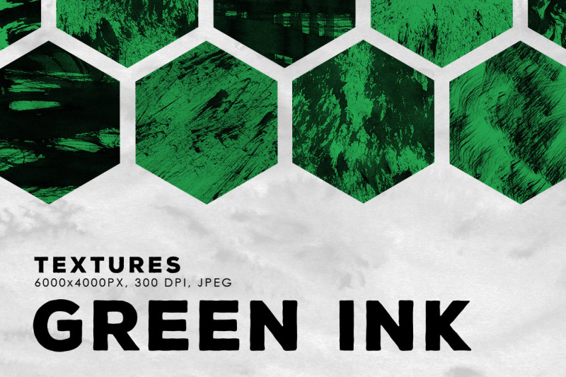 green-abstract-ink-textures