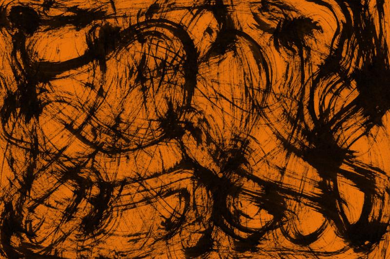 orange-abstract-ink-textures