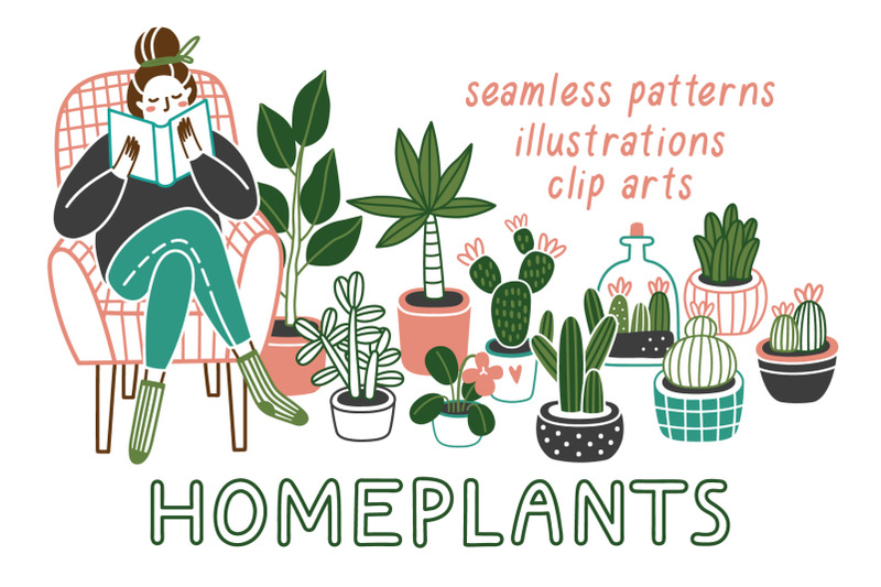 homeplants-clip-arts-collection
