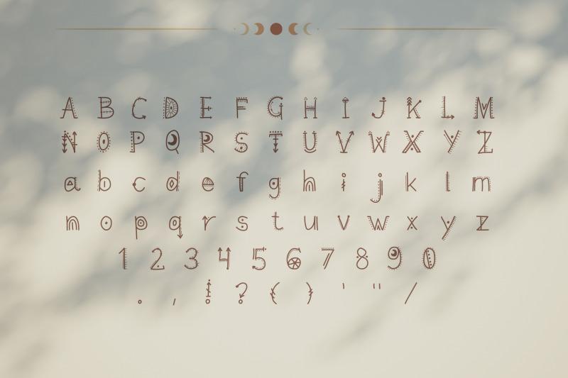 mystic-font-handwritten