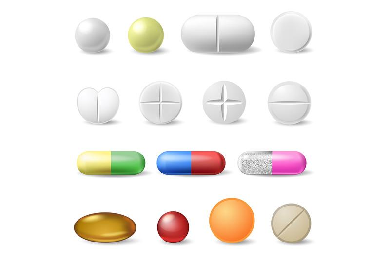 realistic-medical-pills-medicine-healthcare-vitamins-and-antibiotics