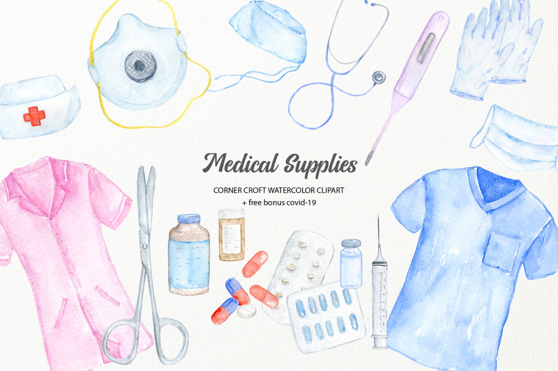 watercolor-medical-supply-clipart
