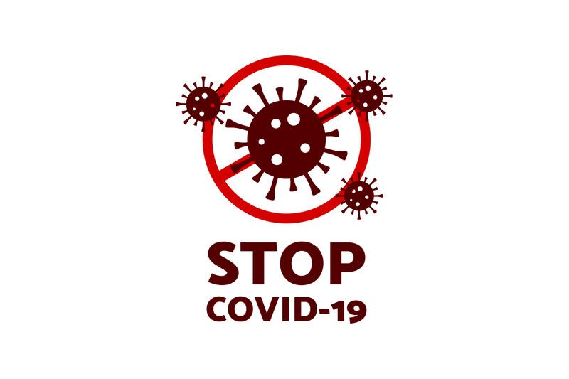 stop-covid-19-symbol-vector