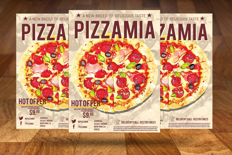 pizzaria-fast-food-flyer