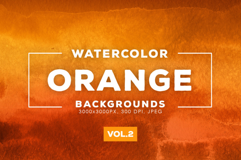 watercolor-orange-backgrounds-vol-2