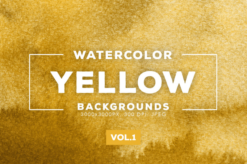 watercolor-yellow-backgrounds-vol-1