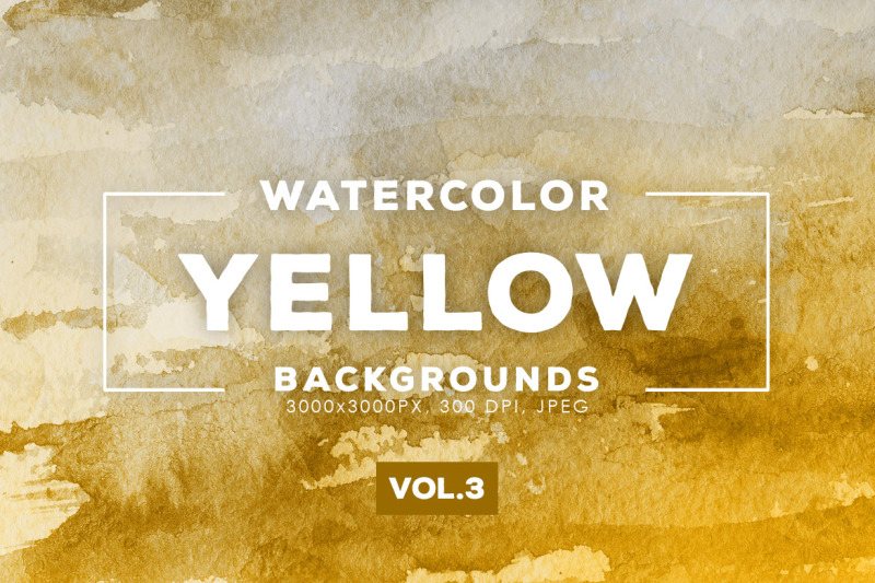 watercolor-yellow-backgrounds-vol-3