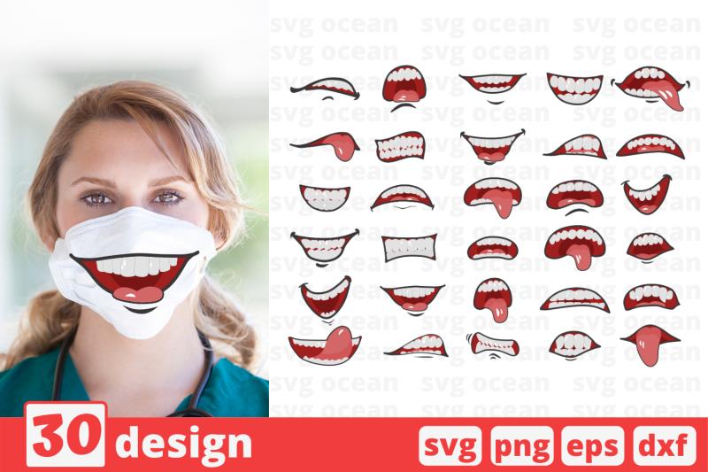 30-cartoon-mouths-face-mask-svg-pattern-mouth-cricut-svg