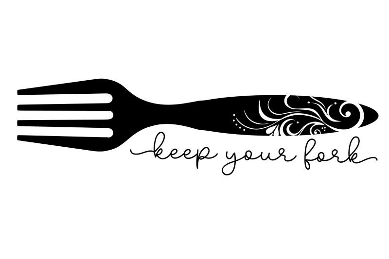 keep-your-fork-svg-png-eps