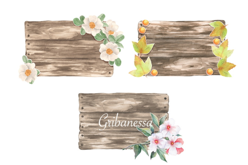 wooden-sign-collection-8-items