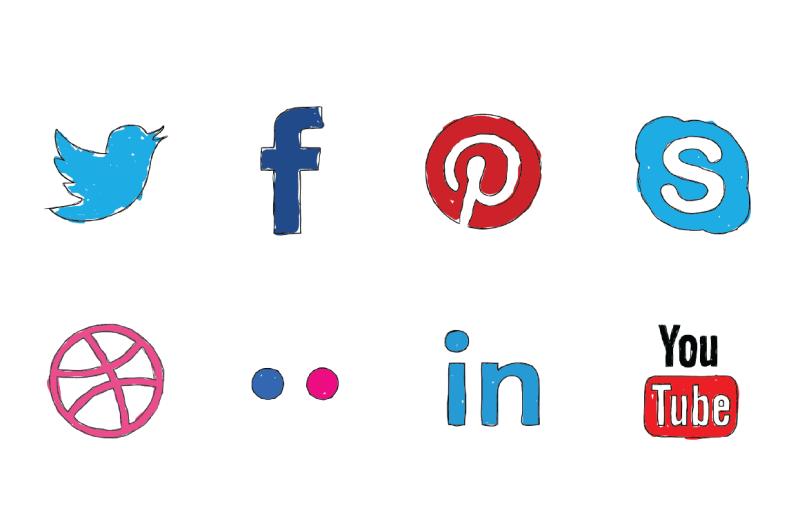 social-icon-doodles