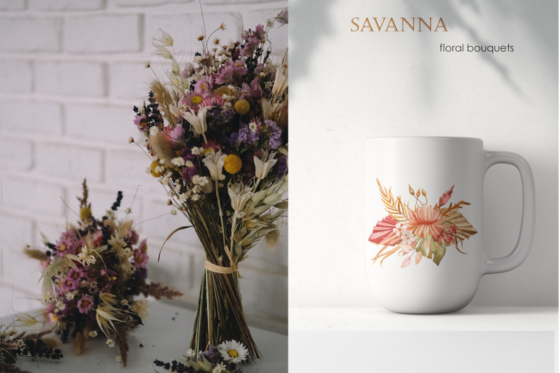 savanna-dried-flowers-and-leaves-watercolor