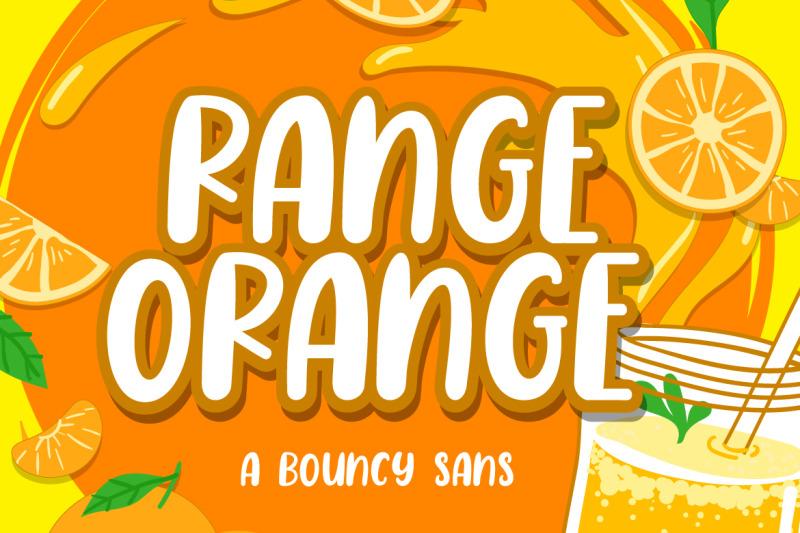 range-orange-a-bouncy-sans