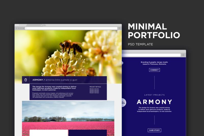 minimal-psd-portfolio
