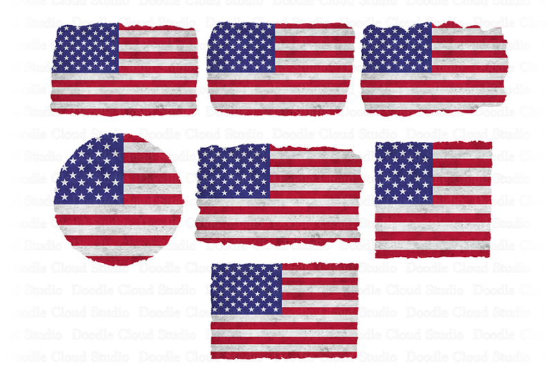 usa-american-flag-distressed-png-background-png-bundle