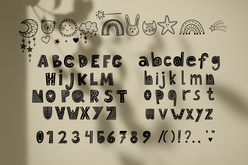 baby-cute-font