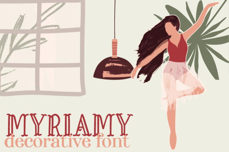myriamy-font
